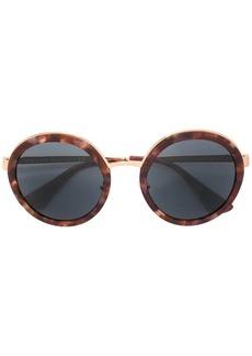 Prada tortoiseshell round sunglasses