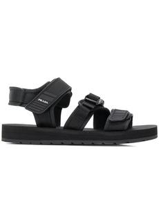 Prada touch strap sandals