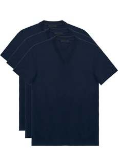 Prada triple-pack V-neck T-shirts