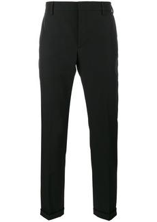 Prada turn-up tailored trousers