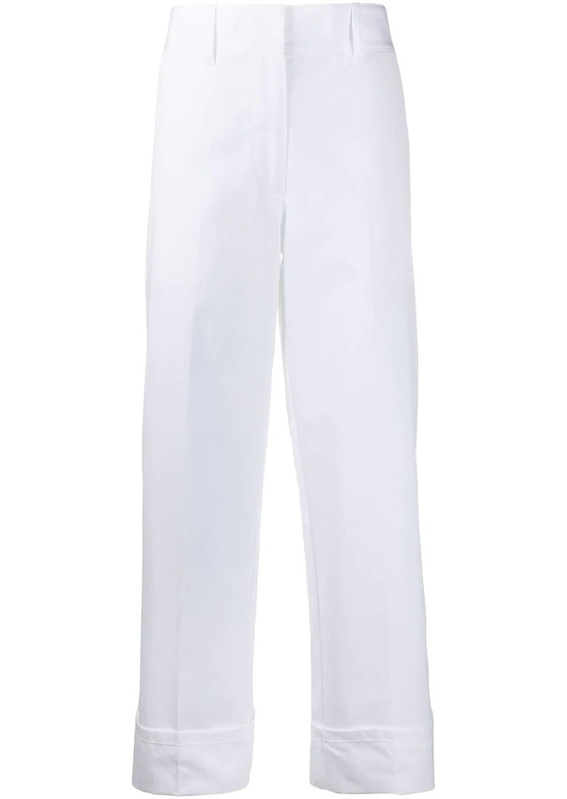 Prada turn-up trousers
