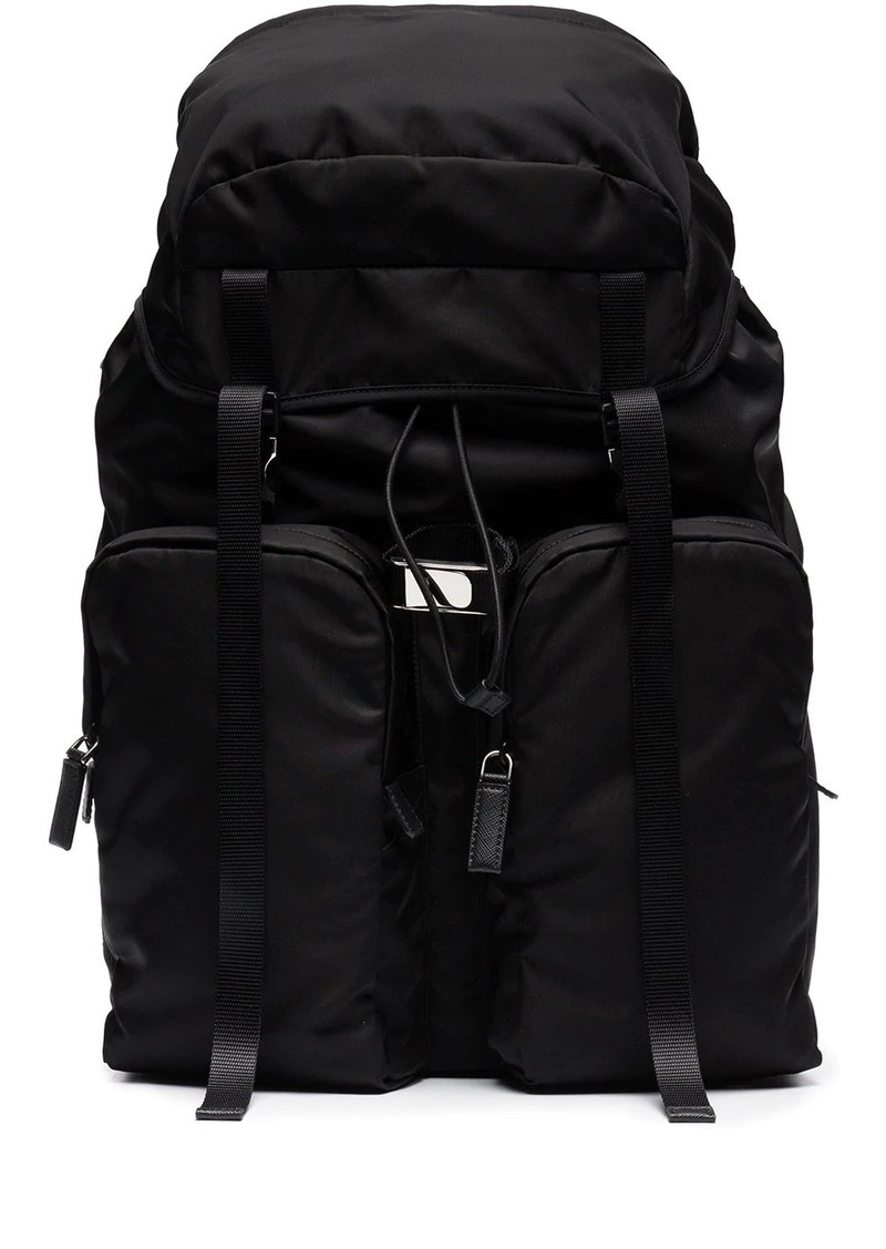 Prada Two Pocket Backpack