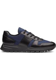 Prada two-toned low top sneakers