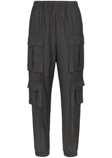 Prada utility wool trousers