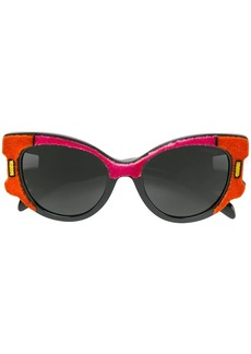 Prada velvet cat-eye sunglasses