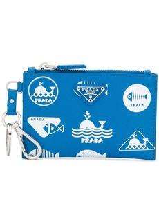 Prada whale motif wallet