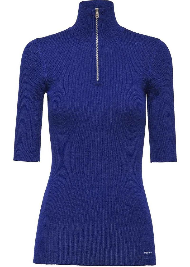 Prada Wool and Silk Sweater