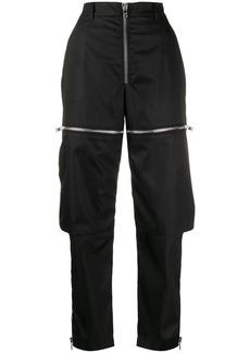 Prada zipped cargo trousers