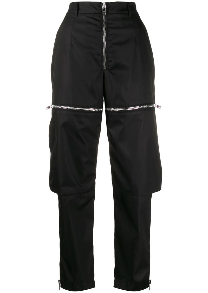Prada zipped cargo trousers