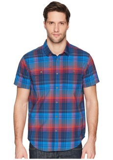 PrAna Cayman Plaid Short Sleeve