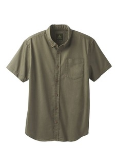 Prana Men's Broderick Solid SS Shirt