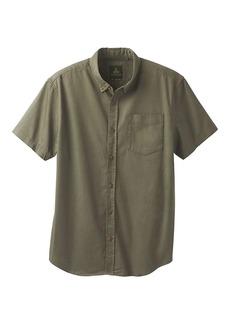 Prana Men's Broderick Solid SS Shirt