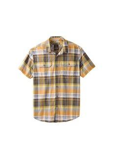 Prana Men's Cayman Plaid SS Shirt