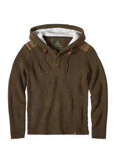 Prana Men's Hooded Henley Sweater