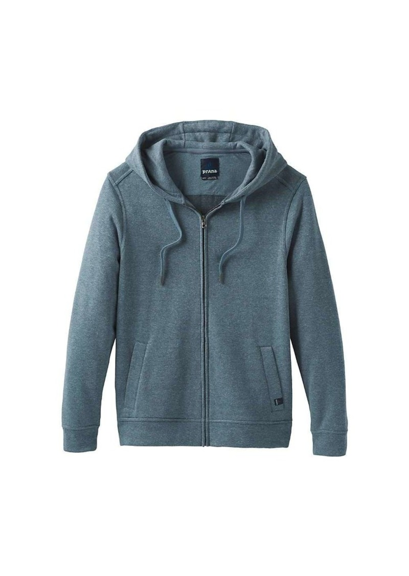 Prana Men's Outlyer Full Zip Hooded Fleece Top