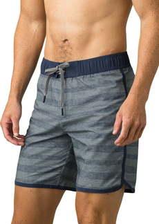 prAna Quick Dry Stripe Shorts