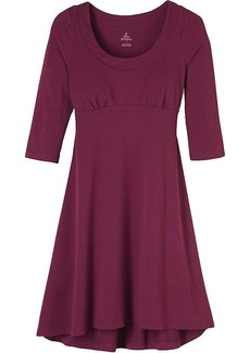 Prana Women's Cali 3/4 Sleeve Dress