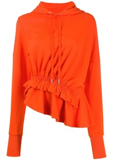 Preen Ally ruffle-trim hoodie