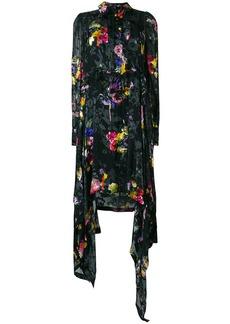 Preen Amelia floral asymmetric dress