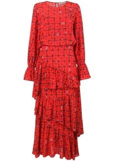 Preen Amina floral vine dress