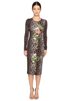 Preen Amos Printed Jersey Dress