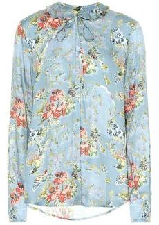 Preen Aryanna floral satin blouse