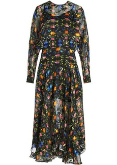 Preen Bergamot Embroidered Dress with Silk