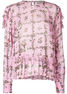 Preen Bryoni floral printed blouse