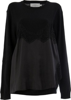 Preen Caia lace-trimmed jumper