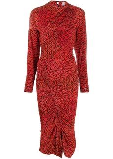 Preen Damaris smocked dress