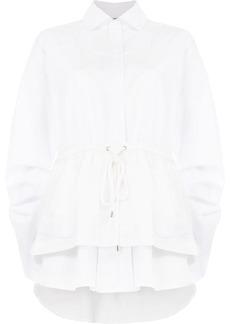 Preen drawstring waist blouse
