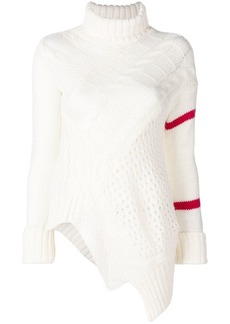 Preen flared knitted sweater