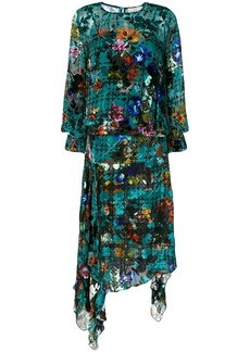 Preen floral flared dress