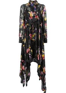 Preen floral print asymmetric dress