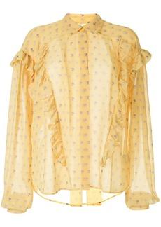 Preen floral print blouse