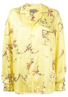 Preen floral print shirt