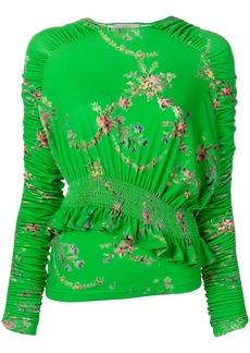 Preen floral print top