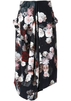 Preen flower print skirt