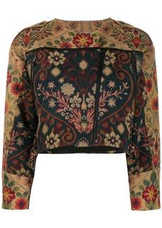 Preen Hera cropped jacket