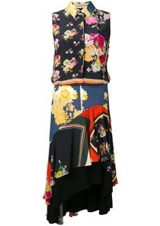 Preen Ina floral foulard dress