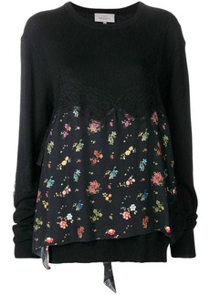 Preen June floral printed sweater