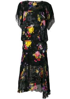 Preen Leonora floral midi dress