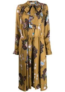 Preen Lupin floral dress