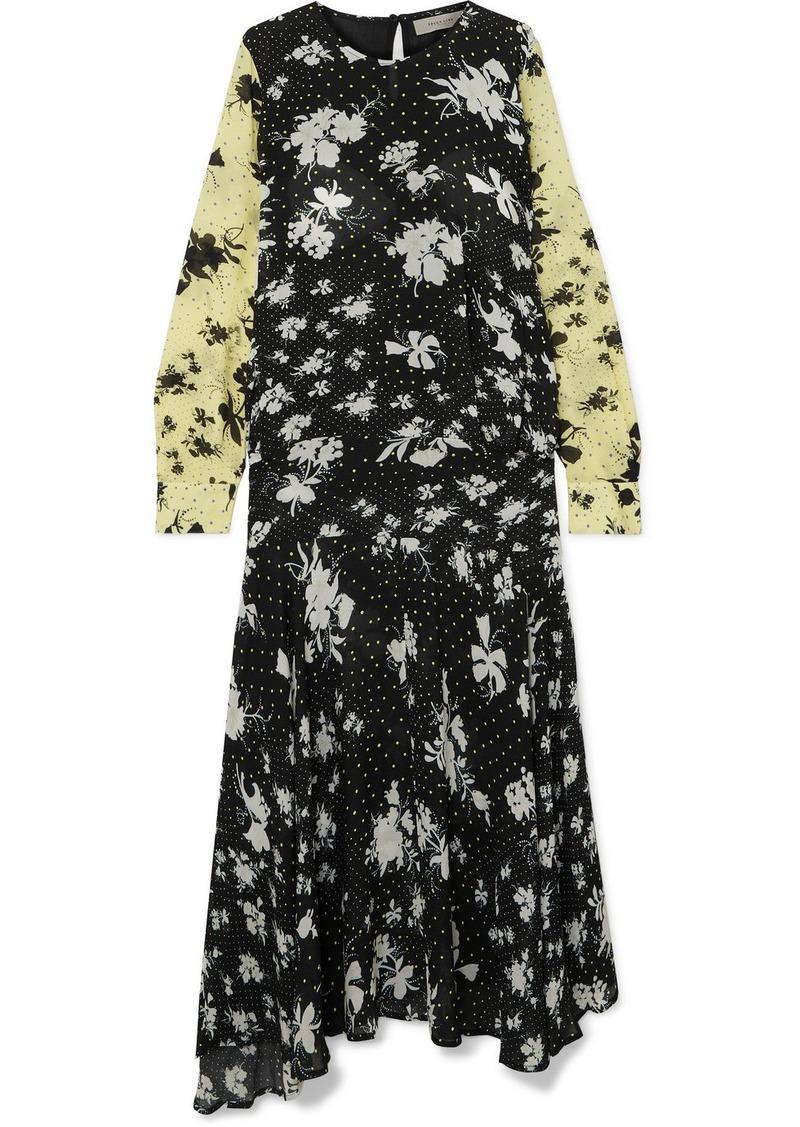 Marin Floral-print Georgette Maxi Dress