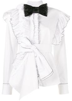 Preen Morgana ruffle shirt