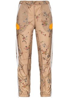 Preen Nelly floral cropped track pants