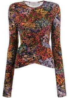 Preen Norah floral top