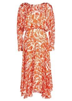 Preen Norma Printed Chiffon Dress