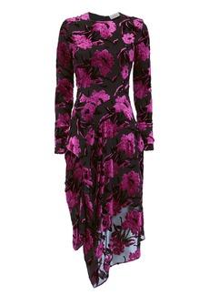 Preen Alyssa Lurex Midi Dress