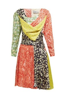 Preen By Thornton Bregazzi Adriana floral-print silk-blend mini dress